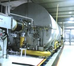 高升采油厂注气炉清洗